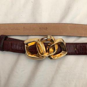 Neiman Marcus leather belt S
